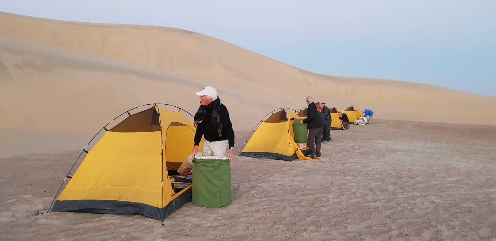 acampar en Sudán