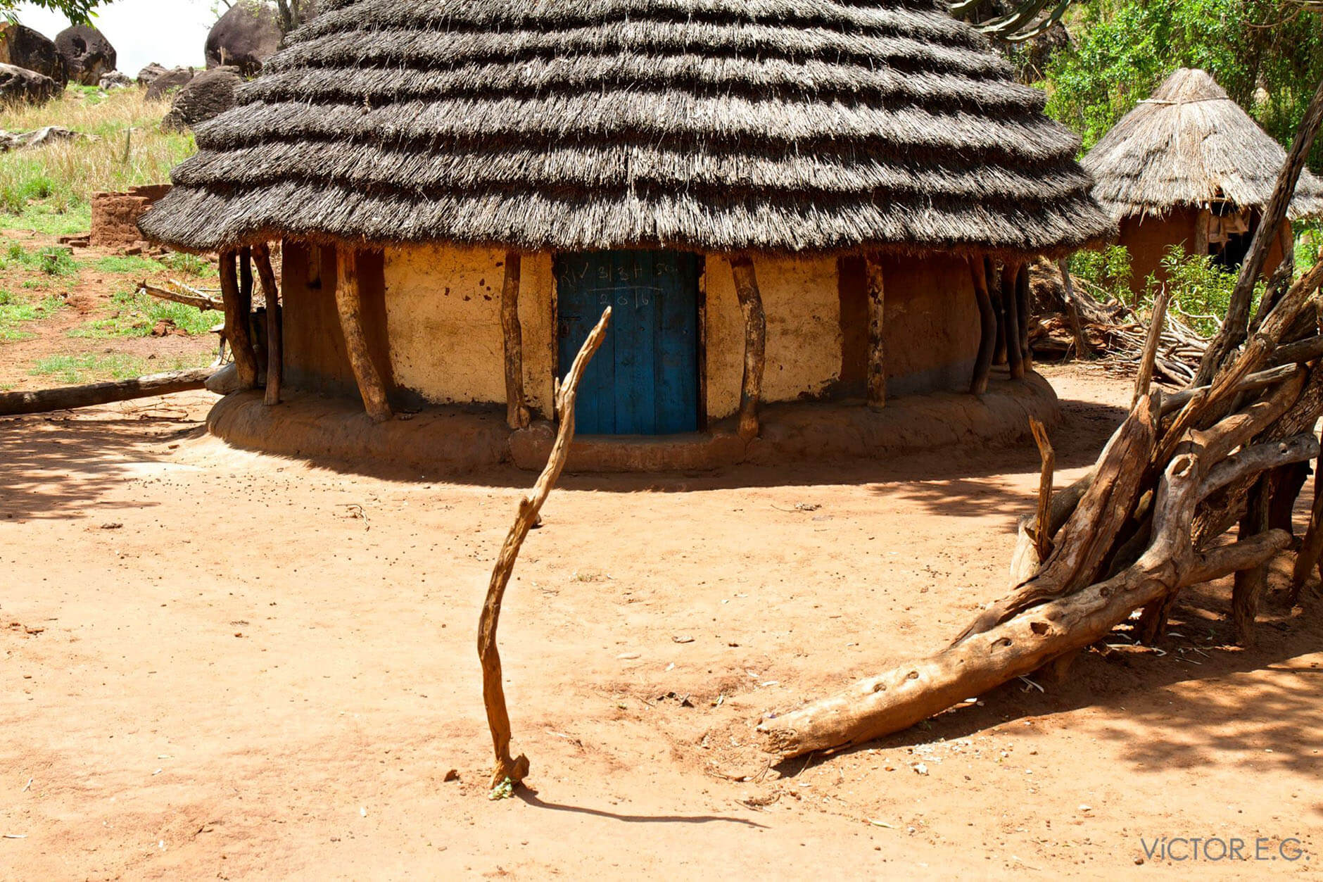 cabaña karamajong