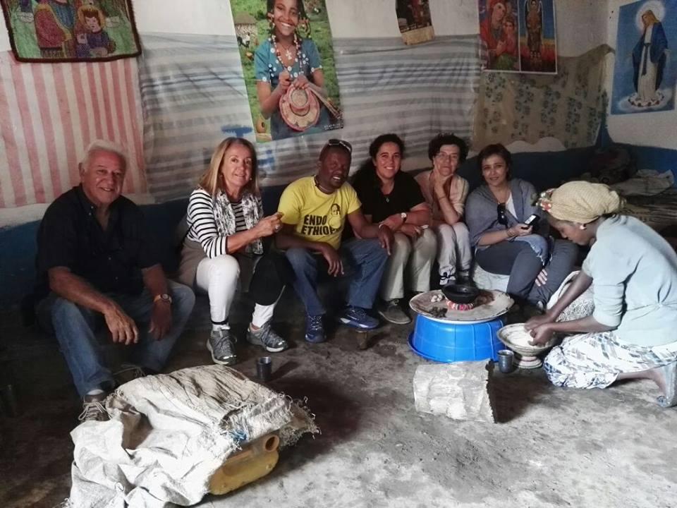 ceremonia del café etíope