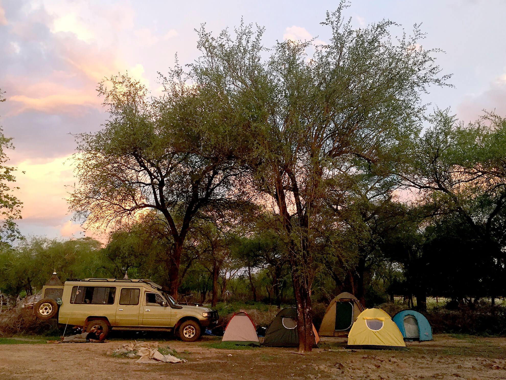 campamento Sudán del Sur