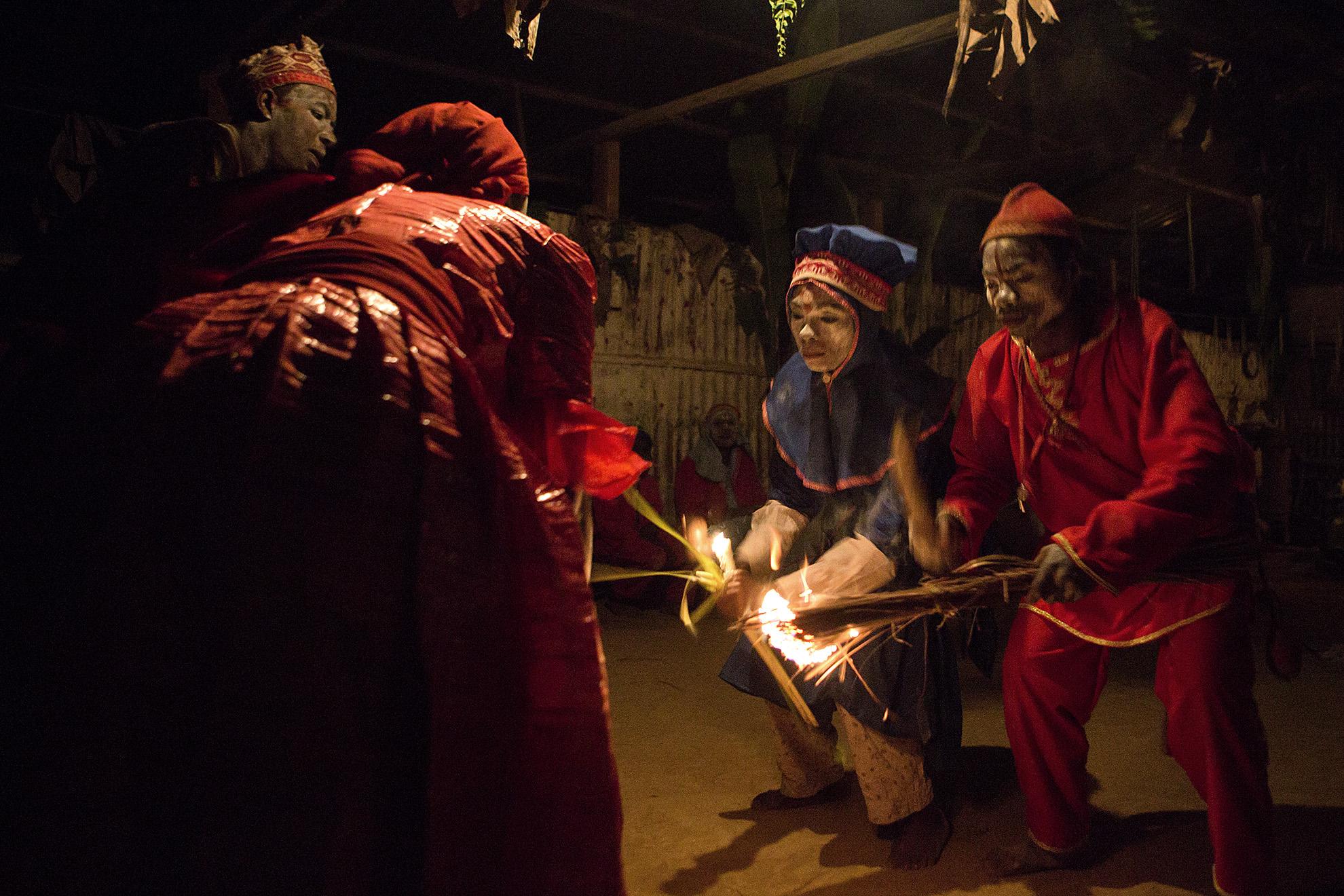 ceremonia bwiti Gabón
