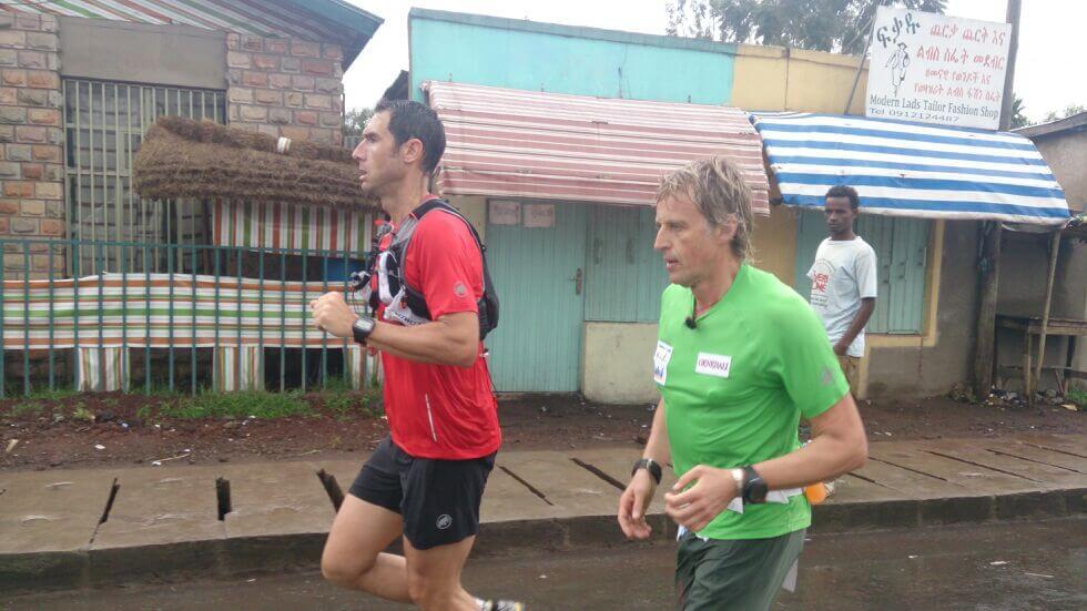 correr en Etiopia