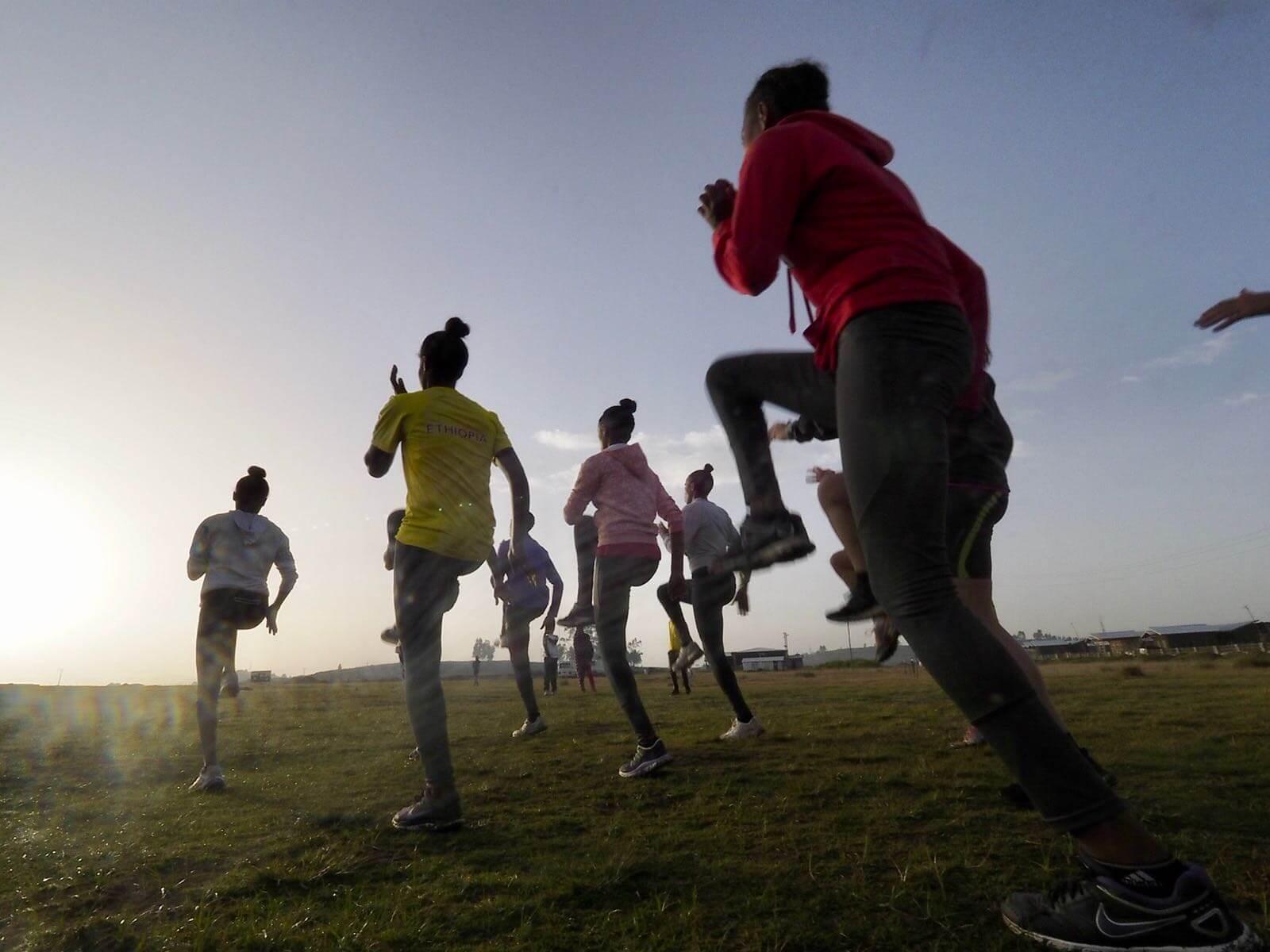 debrebirhan Etiopia running