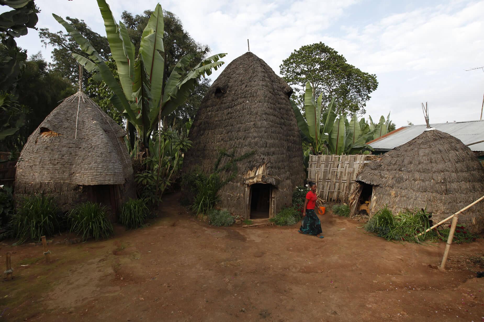 casa Dorze Etiopía