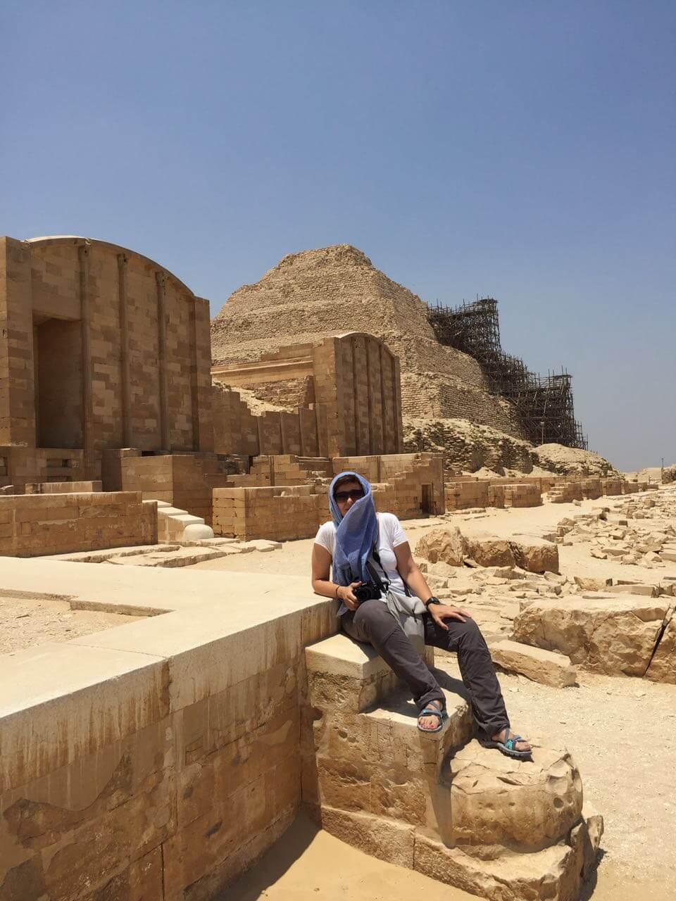 Egipto con Irene Cordón