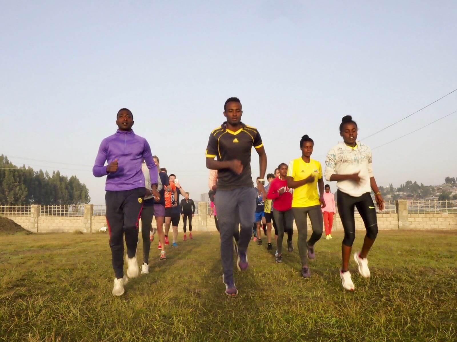 entrenamiento runners Etiopia