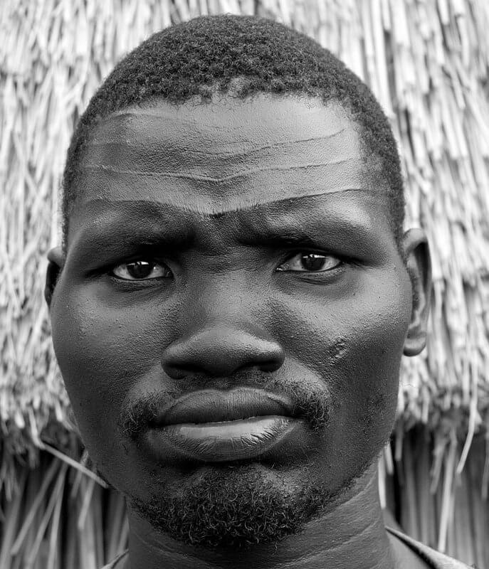 escarificaciones africanas