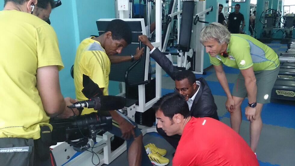 fisioterapia Jesus Calleja Haile Etiopia
