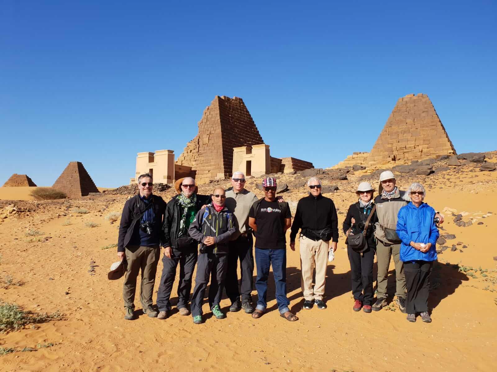 grupo viaje Sudán