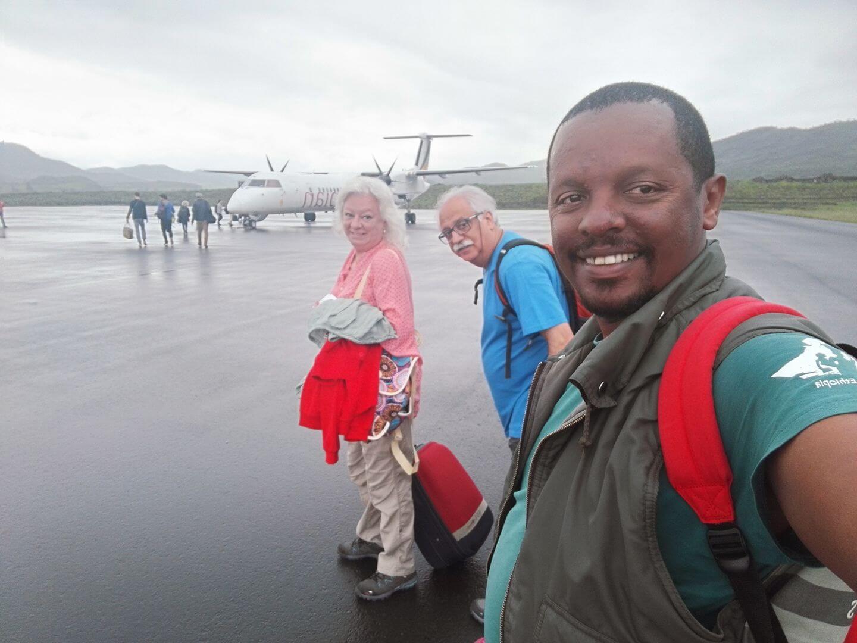 guia en Etiopia