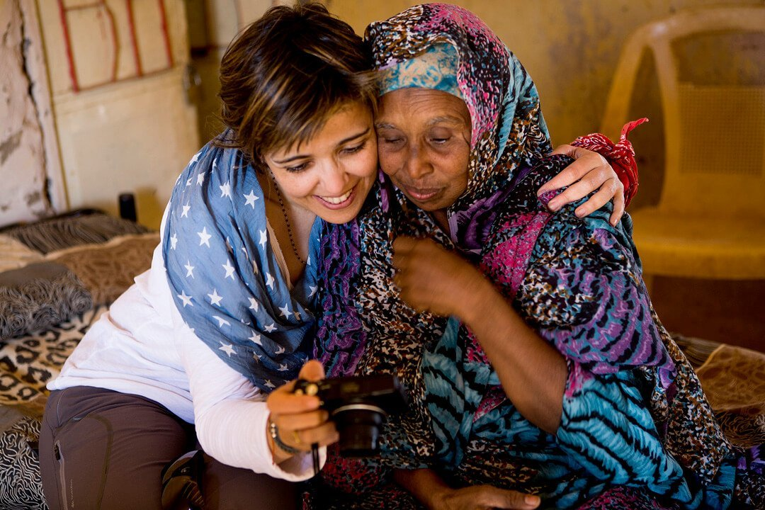 Irene cordon en Sudan Henna