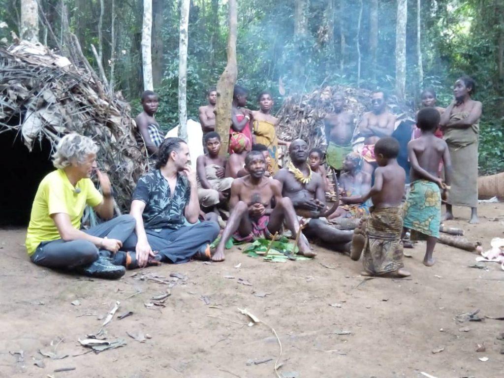 Jesús Calleja en Camerún