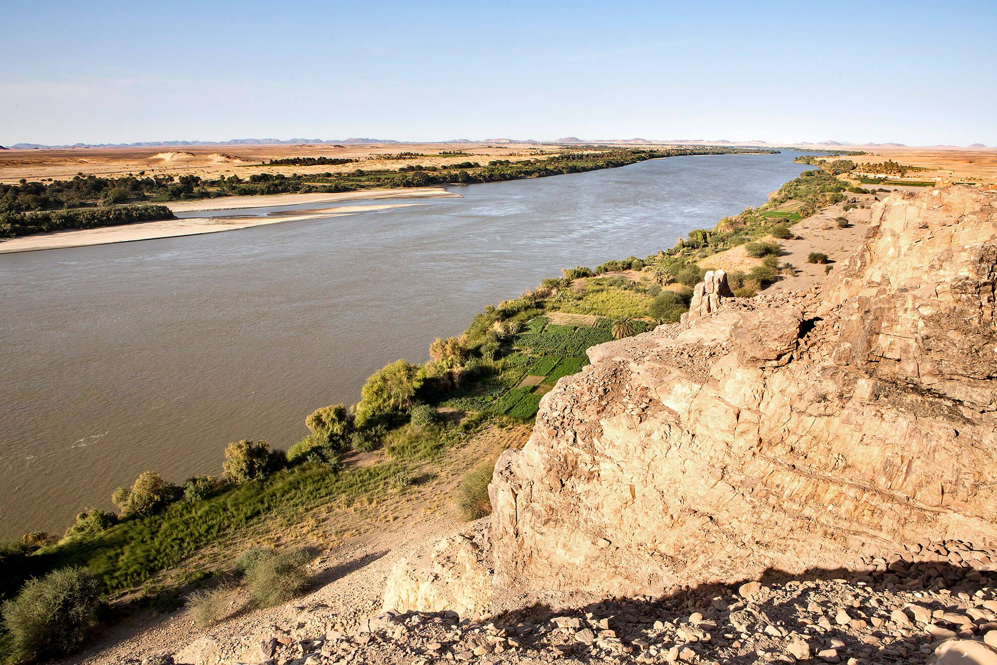 rio Nilo Sudán