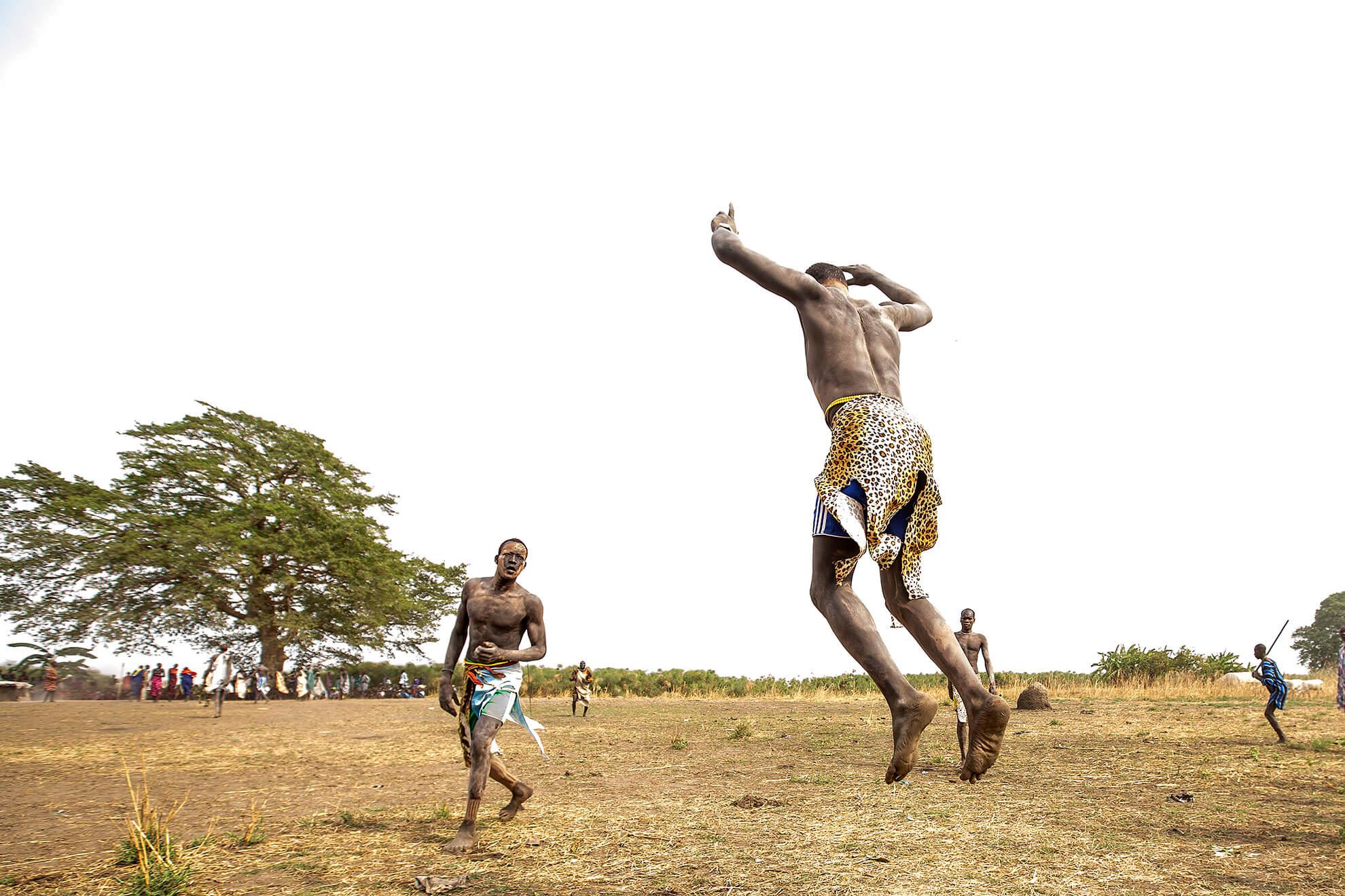 luchadores mundari Terakeka Sud Sudan