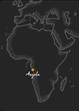 Mapa de Angola Rift Valley