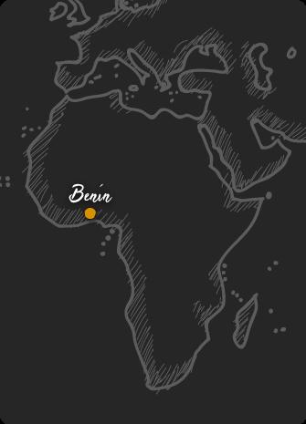 Mapa de Benin Rift Valley