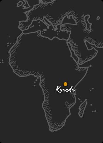 Mapa de Ruanda Rift Valley
