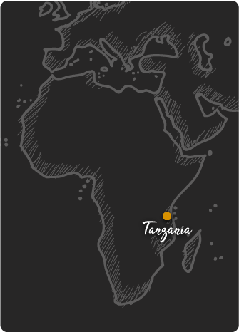 Mapa de Tanzania Rift Valley