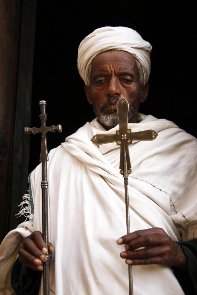 monje lalibela helena Etiopia