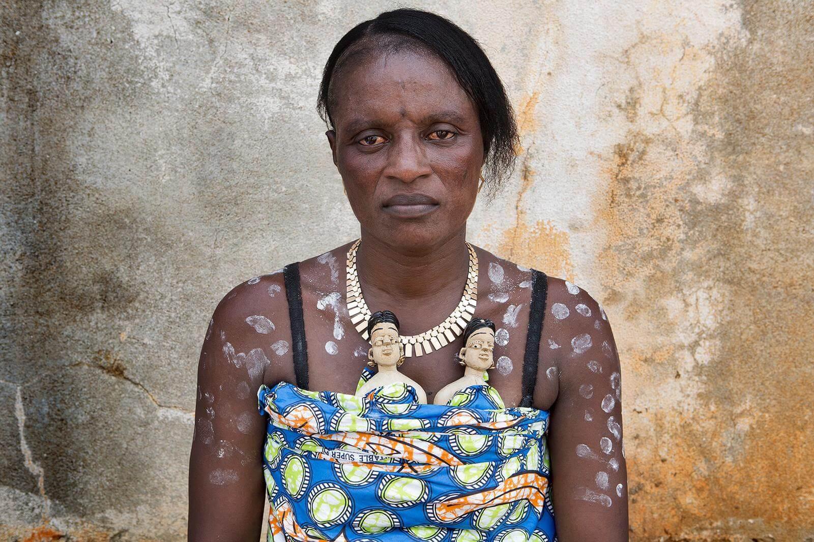 mujer de Benin