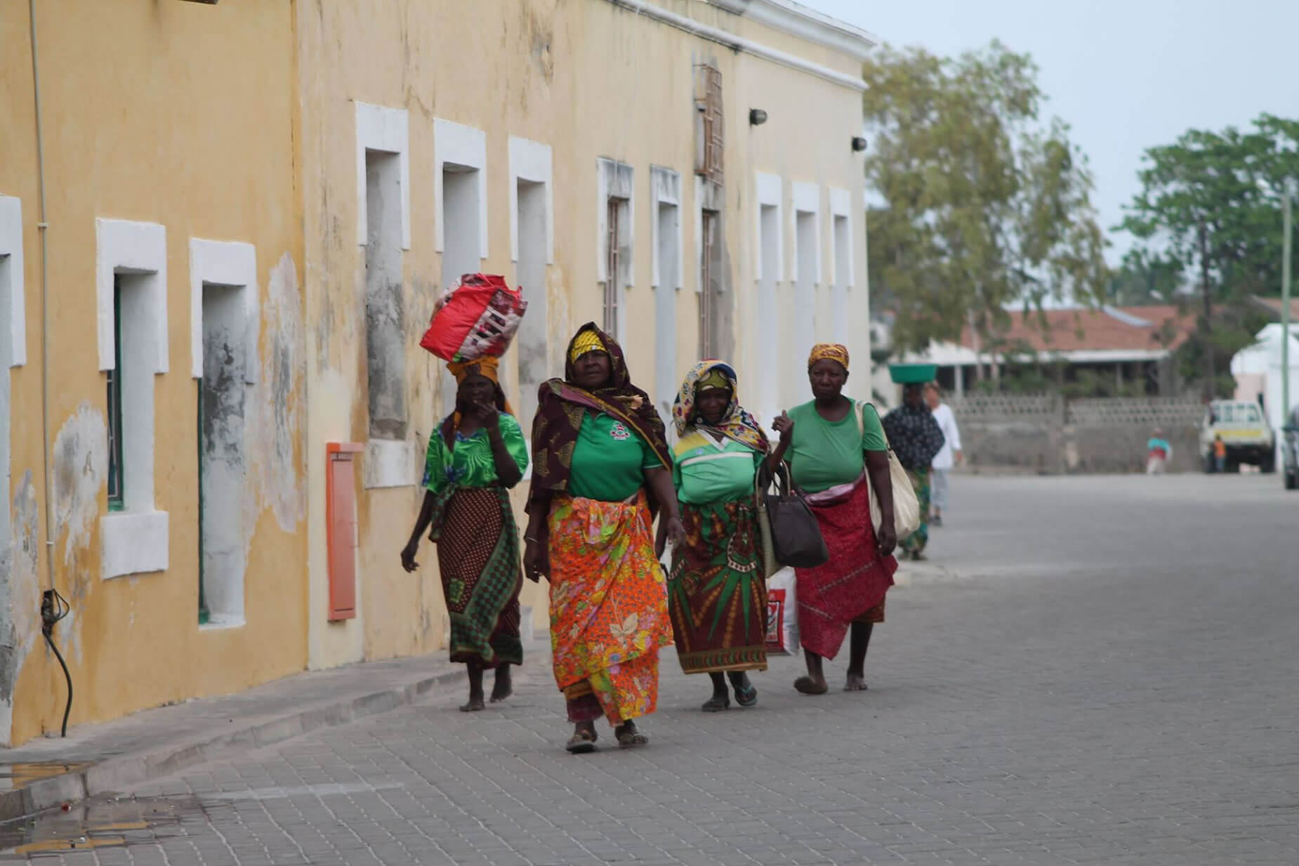 mujeres Mozambique