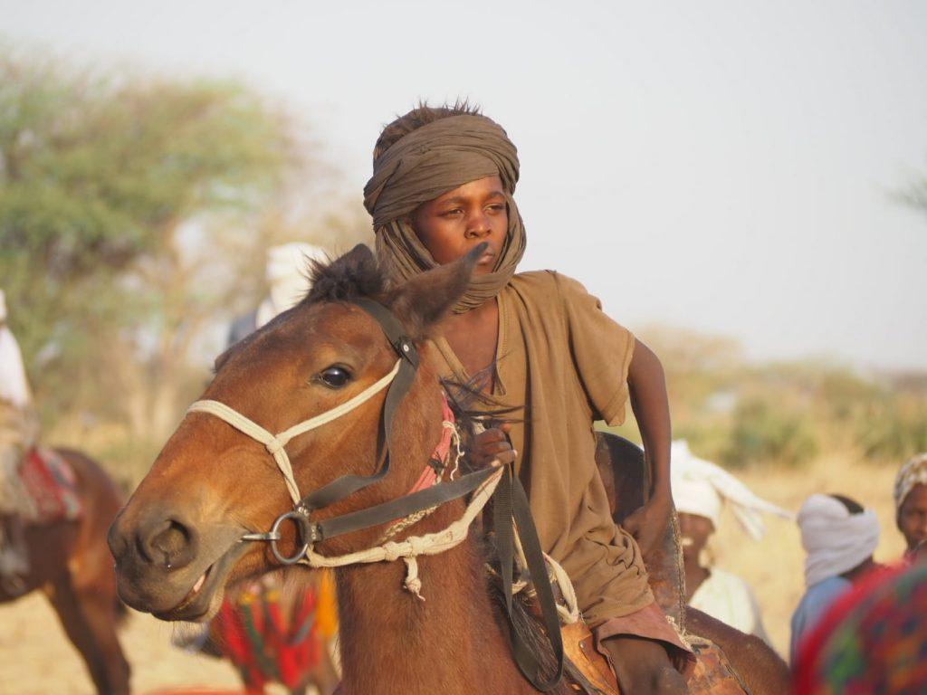 Nómadas desierto del Chad