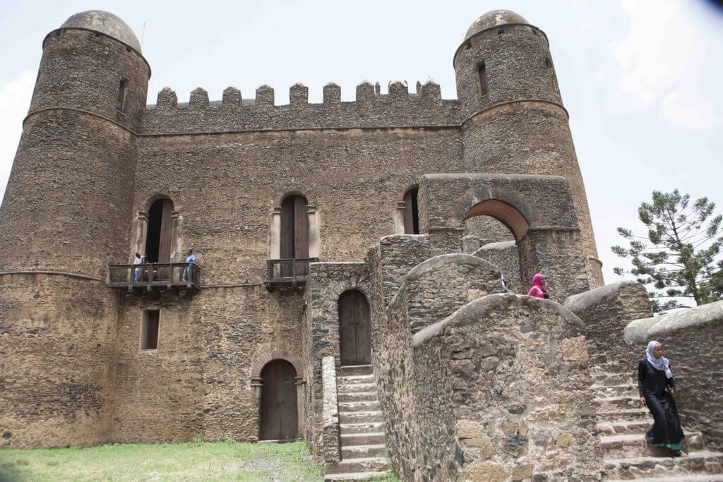 norte de Etiopía castillos de gondar