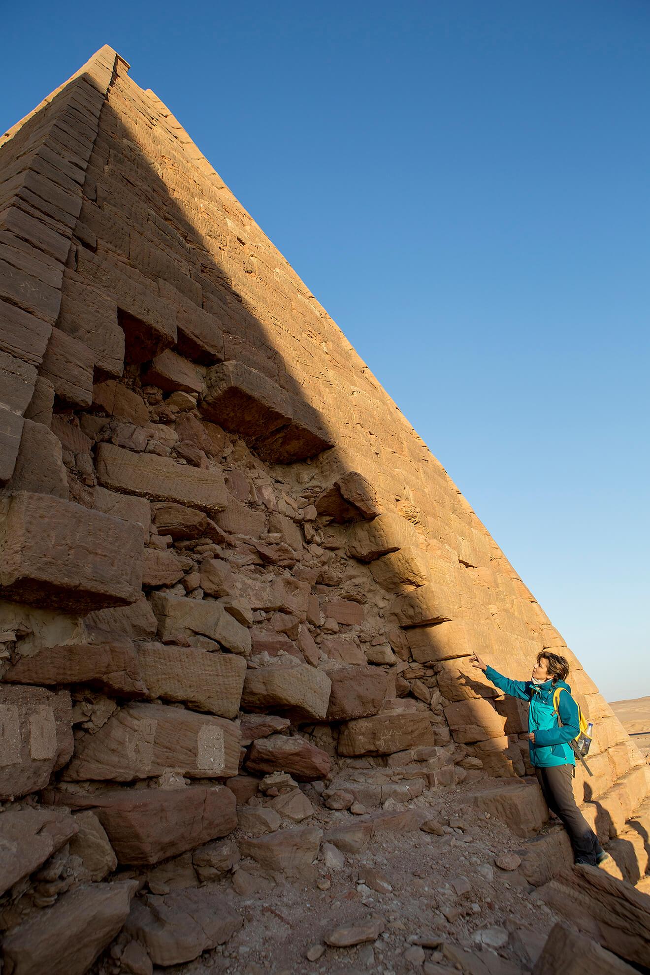 pirámide Meroe Sudán