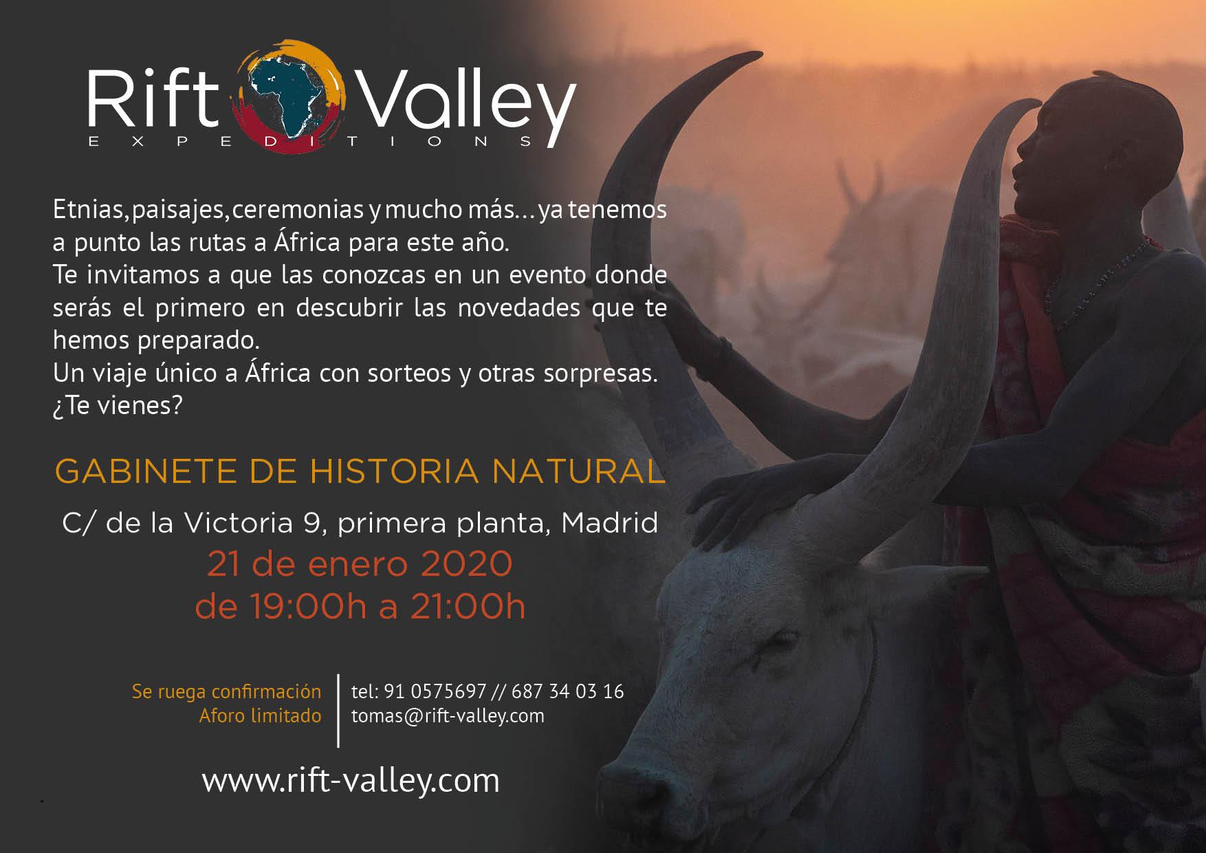 presentación viajes África Madrid