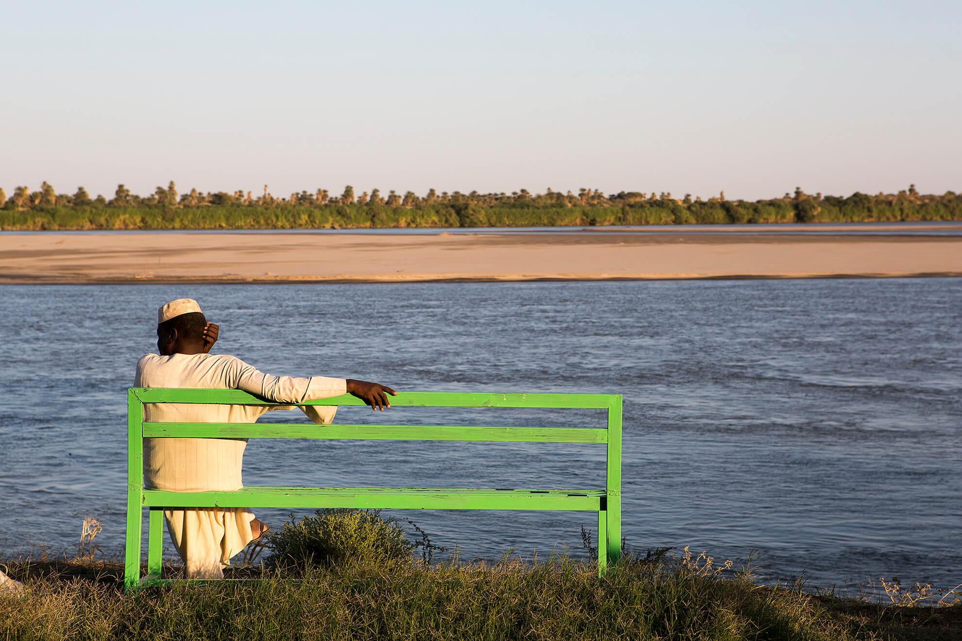 rio nilo en Sudán
