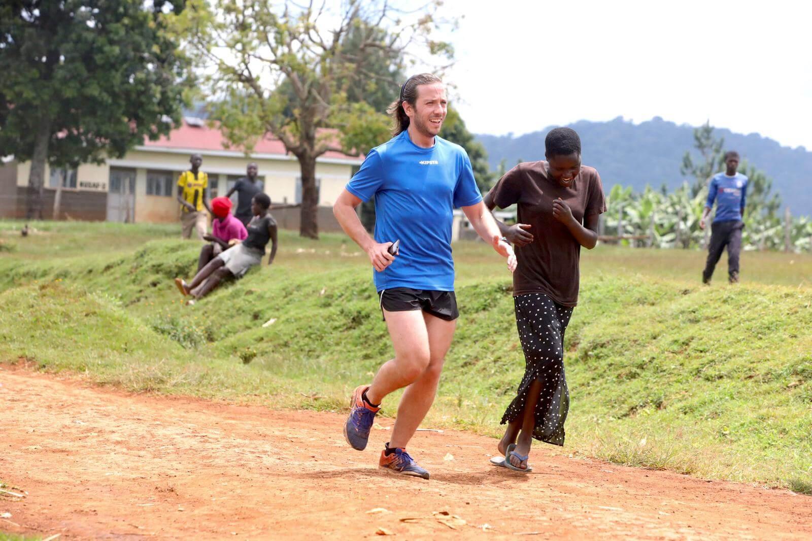running uganda