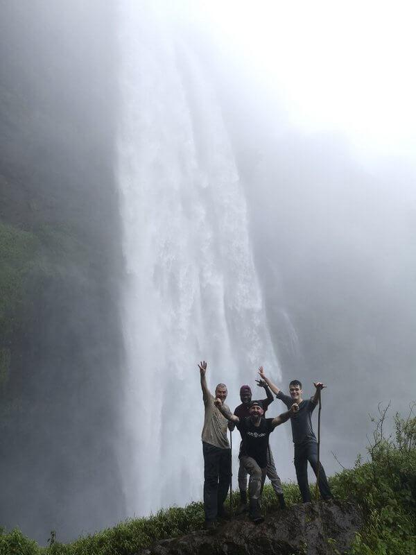 sipi falls de Uganda