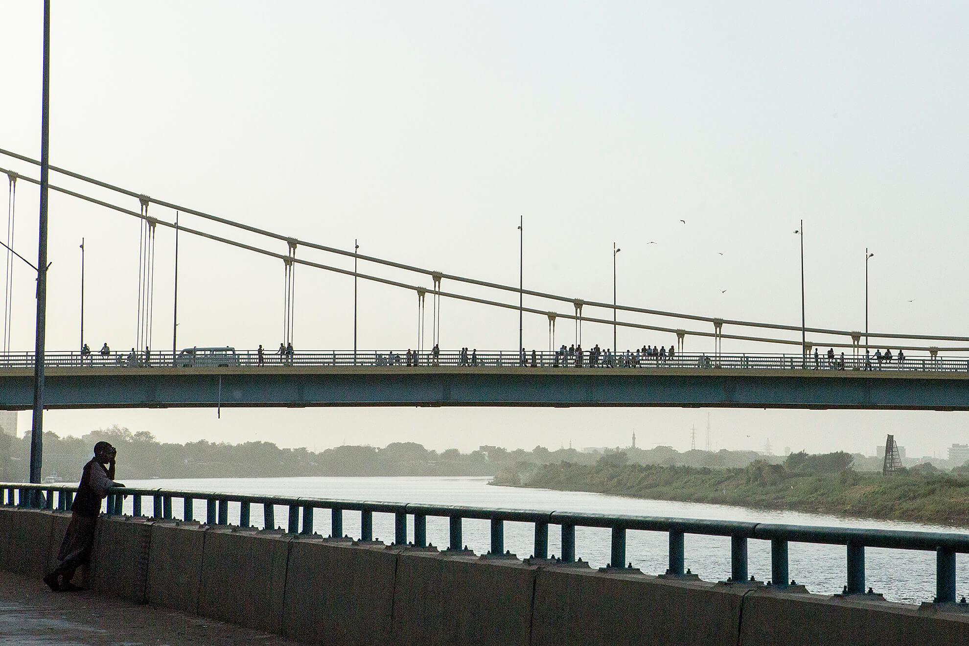sudan khartum bridge omdmam