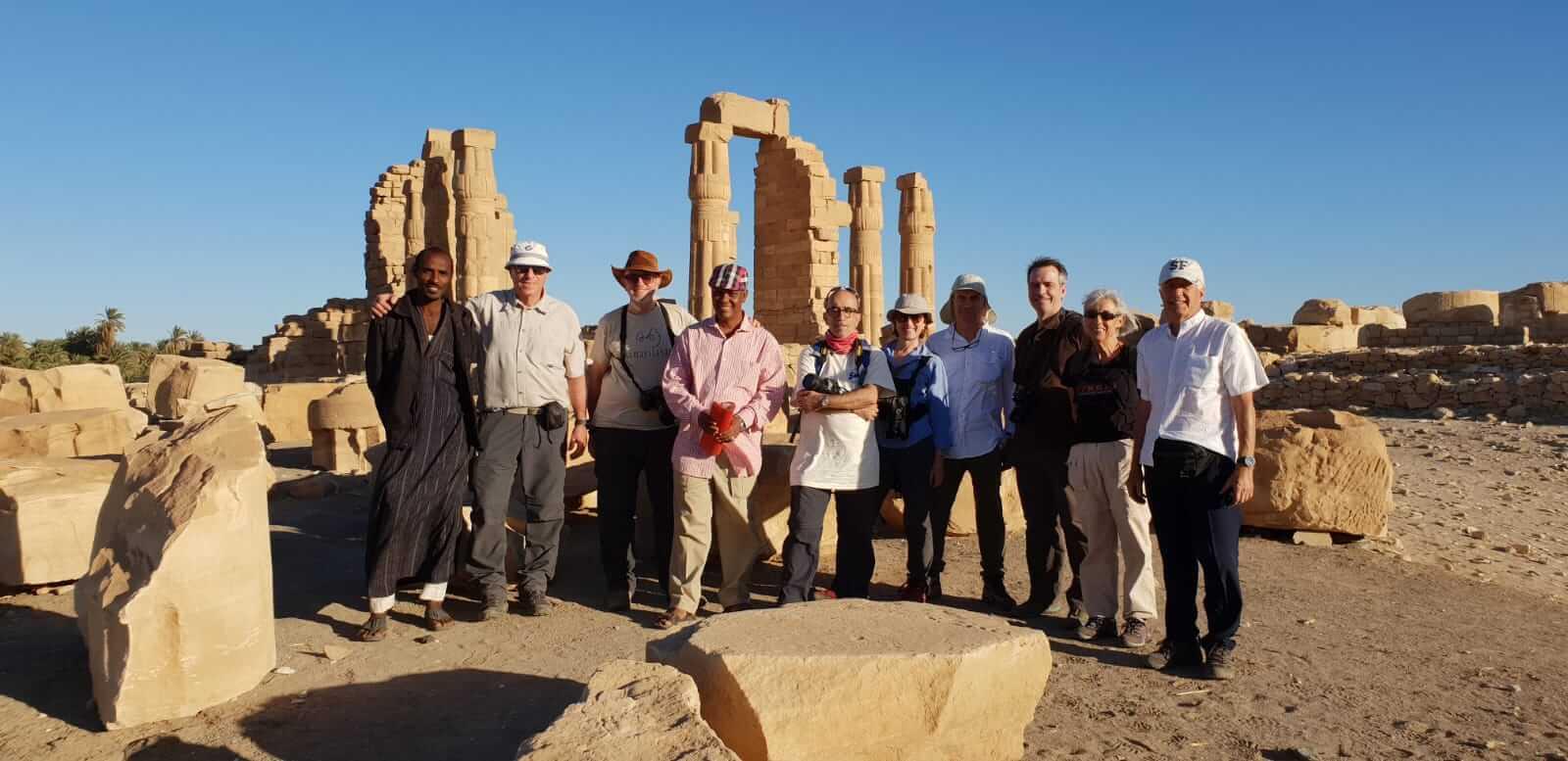 viajar a Sudán en grupo