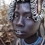 Etiopia etnia Mursi